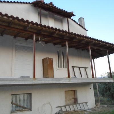 Πωλείται ημιτελής μονοκατοικία, στην Ροδίτσα.